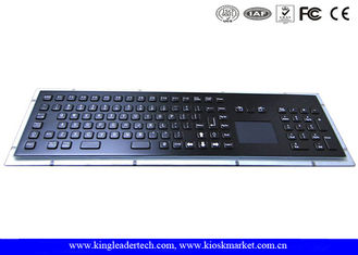Stainless Steel Industrial Keyboard With Touchpad IP65 Liquid-Proof With 103 Keys